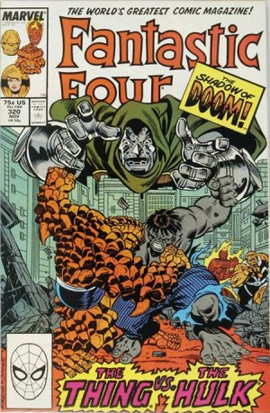 Fantastic Four # 320 Issues V1 (1961 - 1996)