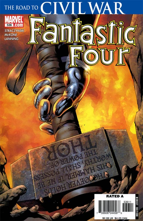 Fantastic Four 536 - The Hammer Falls: Part 1