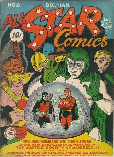 All-Star Comics 8 - 8