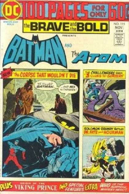The Brave and The Bold 115 - The Corpse That Wouldn't Die!
