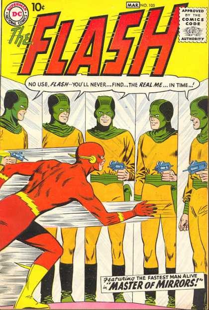 Flash 105 - The Master Of Mirrors!