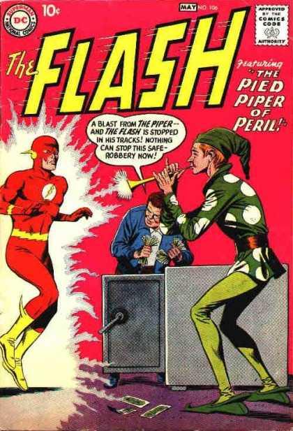 Flash 106 - The Pied Piper Of Peril!