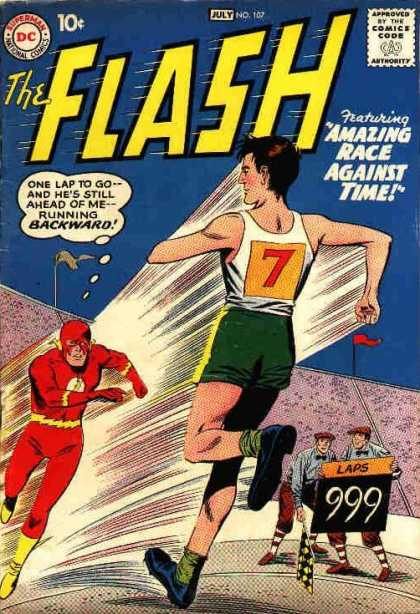 Flash 107 - The Amazing Race Against Time!