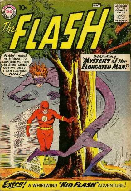 Flash 112 - Mystery Of The Elongated Man!