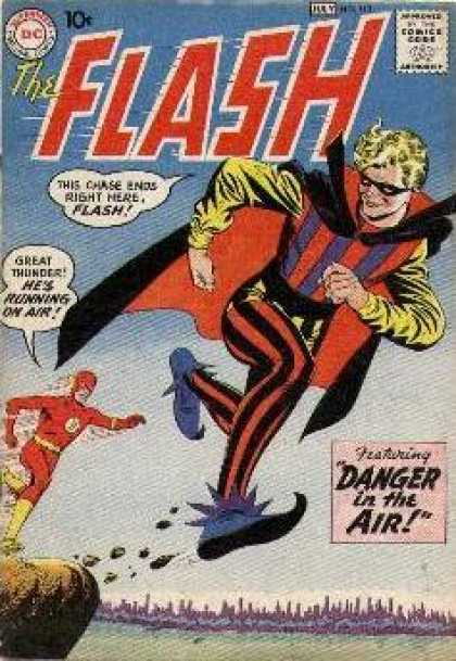 Flash 113 - Danger in the Air!