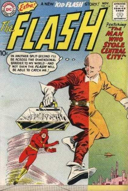 Flash 116 - The Man Who Stole Central City!