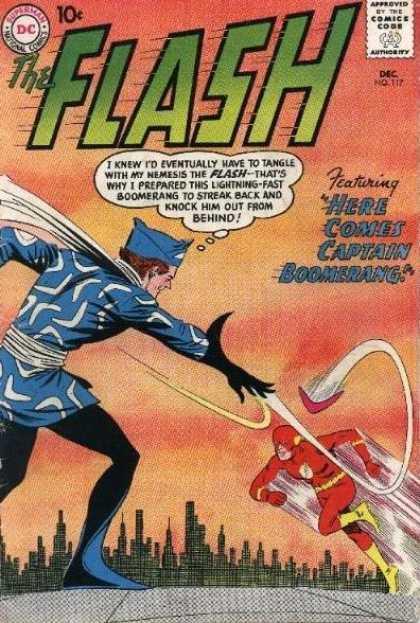 Flash 117 - Here Comes Captain Boomerang!