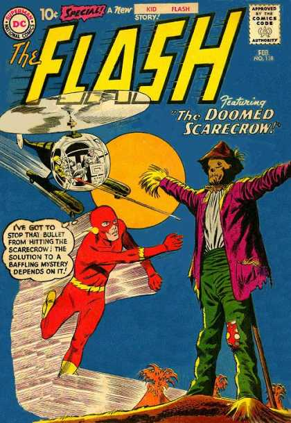 Flash 118 - The Doomed Scarecrow