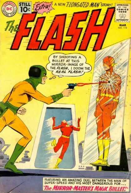 Flash 119 - The Mirror-Master's Magic Bullet!
