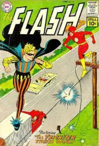 Flash 121 - The Trickster Strikes Back!