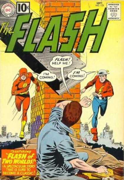 Flash 123 - Flash of Two Worlds!