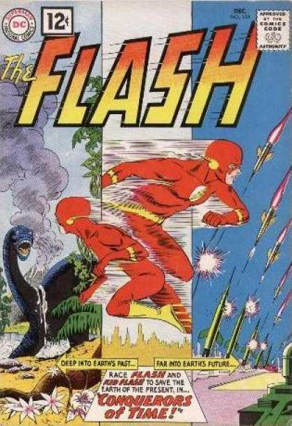 Flash 125 - The Conquerors of Time!
