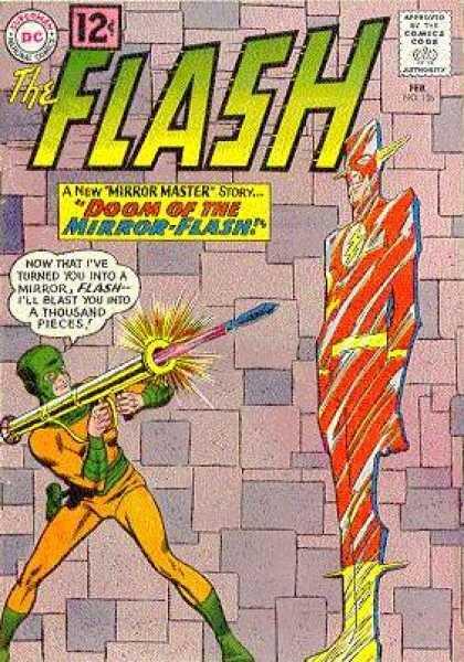 Flash 126 - The Doom of the Mirror Flash!