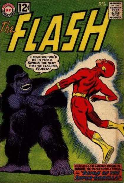 Flash 127 - The Reign of the Super-Gorilla!