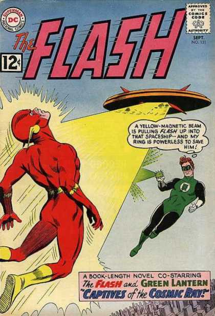 Flash 131 - Captives of the Cosmic Ray!