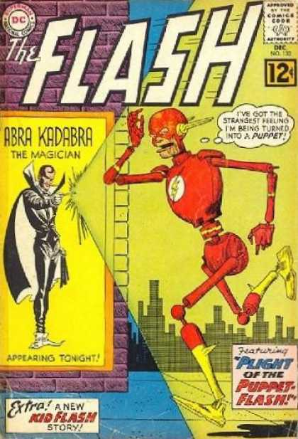 Flash 133 - The Plight of the Puppet-Flash!