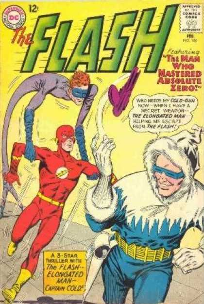 Flash 134 - The Man Who Mastered Absolute Zero!
