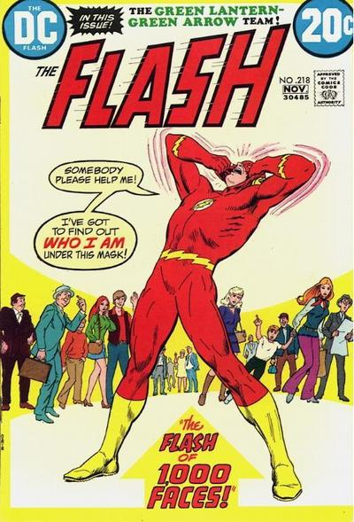 Flash 218 - The Flash Of 1000 Faces