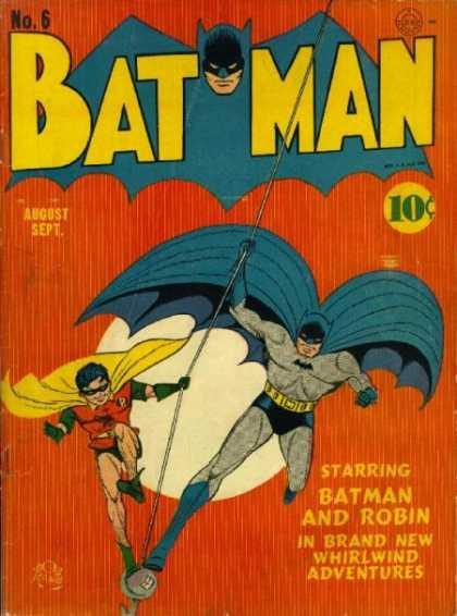 Batman 6 - Murder On Parole.