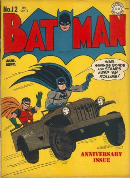 Batman 12 - Brothers In Crime!