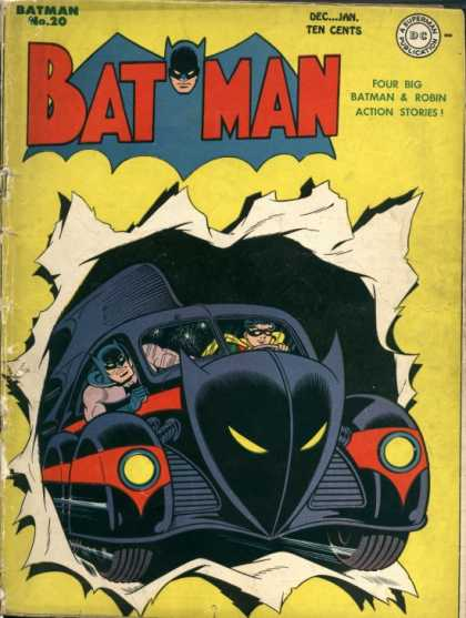 Batman 20 - The Centuries of Crime!