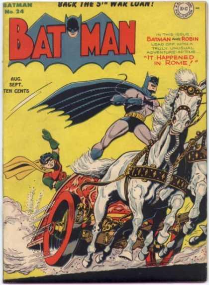 Batman 24 - It Happened in Rome