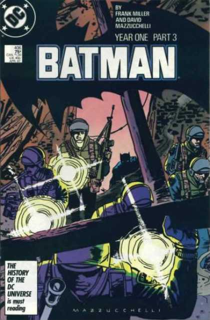 Batman 406 - Batman: Year One, Part 3, Chapter Three: Black Dawn