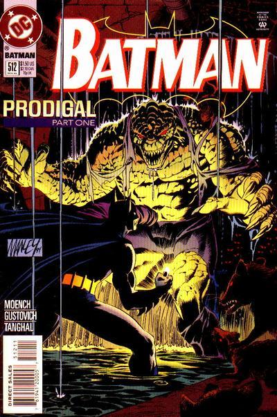 Batman 512 - Prodigal, Part One: Robin and Batman