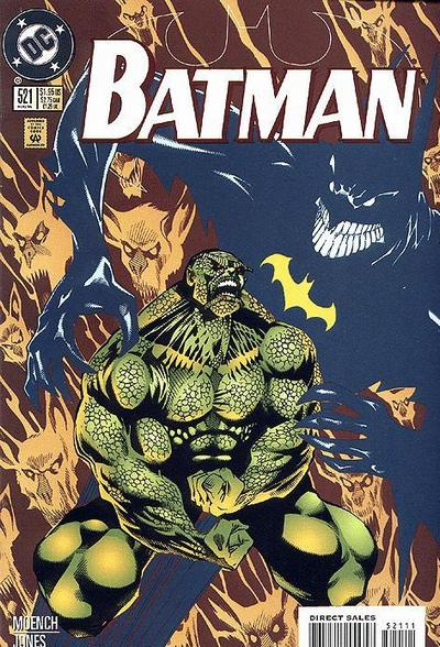 Batman 521 - Killer Croc: Fast Train to the Wet Dark