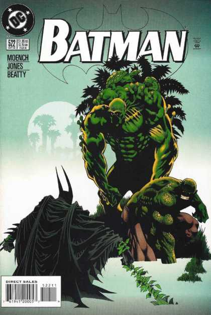 Batman 522 - Swamp Things