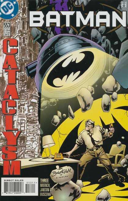 Batman 553 - Cataclysm, Part Three: Lifelines