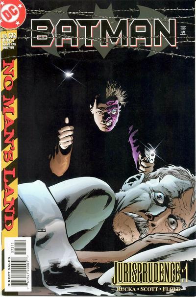 Batman 572 - No Man's Land: Jurisprudence, Part One
