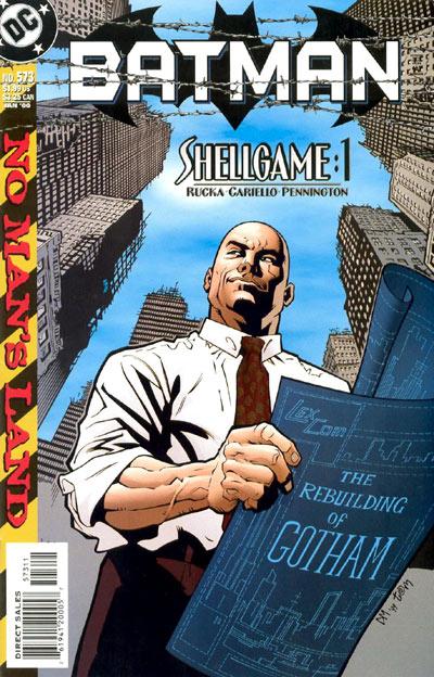 Batman 573 - No Man's Land: Shellgame, Part One: Gambits