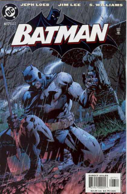 Batman 617 - Hush, Chapter Ten: The Grave