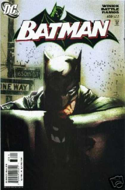 Batman 645 - Show Me Yesterday, For I Can't Find Today
