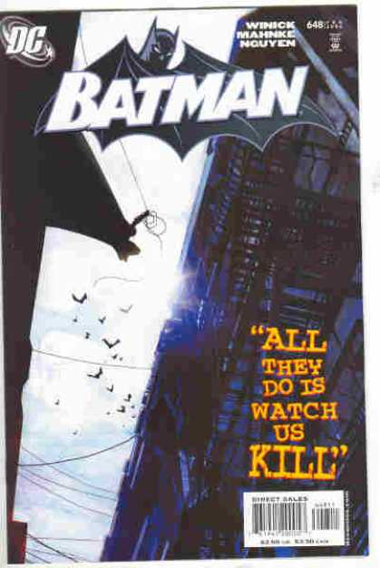Batman 648 - All They Do is Watch Us Kill, Part 1