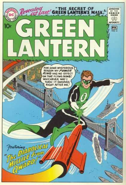 Green Lantern 4 - The Diabolical Missle From Qward!