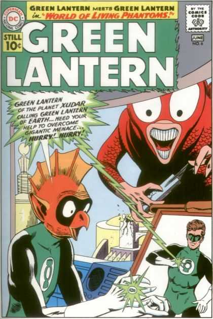 Green Lantern 6 - The World Of Living Phantoms!