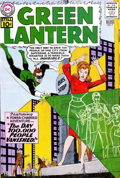 Green Lantern 7 - The Day 100,000 People Vanished!