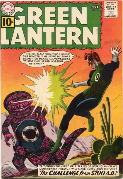Green Lantern 8 - The Challenge From 5700 A.D.!