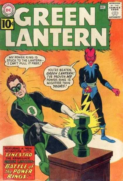 Green Lantern 9 - The Battle Of The Power Rings!