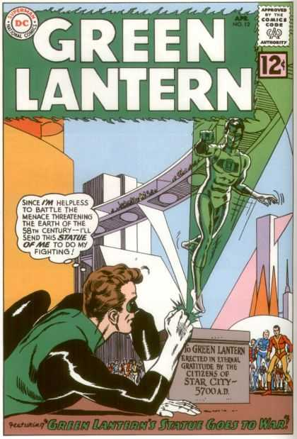 Green Lantern 12 - Green Lantern's Statue Goes To War!