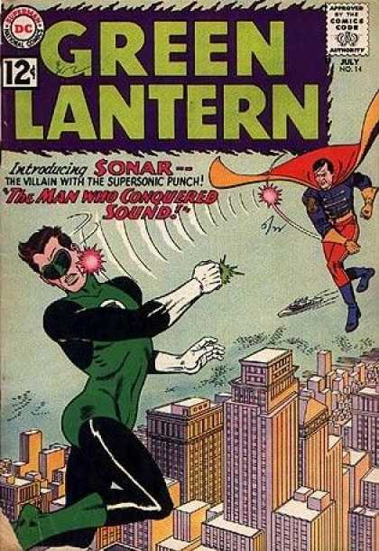 Green Lantern 14 - The Man Who Conquered Sound!