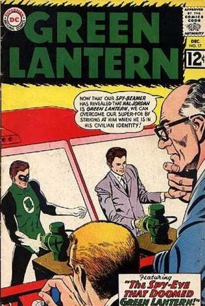 Green Lantern 17 - The Spy-Eye that Doomed Green Lantern!