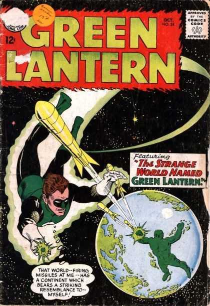 Green Lantern 24 - The Shark That Hunted Human Prey!