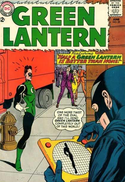 Green Lantern 29 - Half A Green Lantern Is Better Than None!