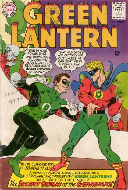 Green Lantern 40 - The Secret Origin of the Guardians