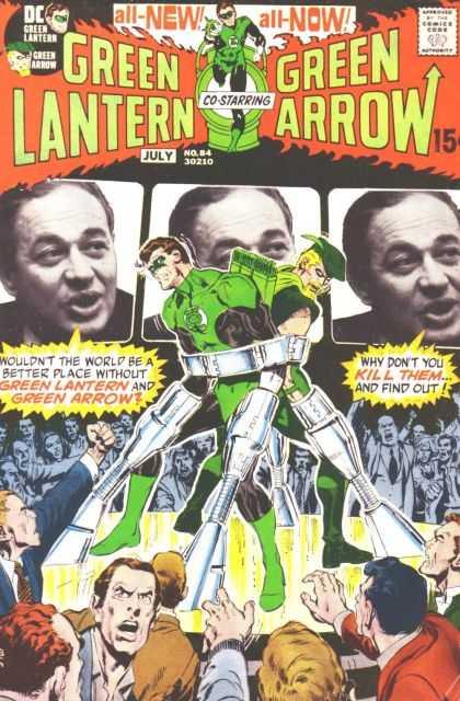 Green Lantern 84 - Peril In Plastic