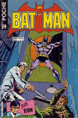 Batman Poche 39 - Le medecin frappe a minuit