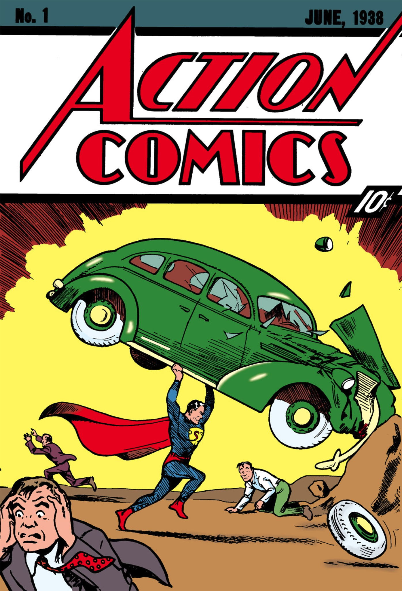 Action Comics 1 - Superman, Champion of the Oppressed!